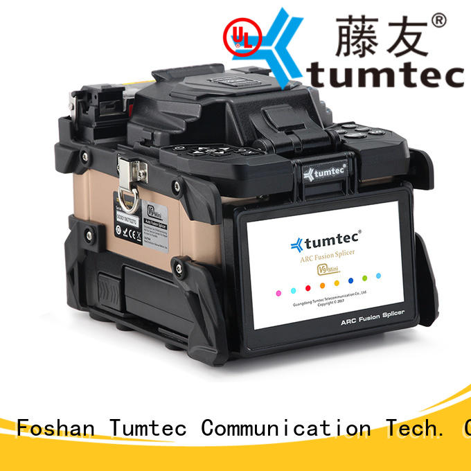 Tumtec optical fiber fiber splicing machine factory directly sale for telecommunications