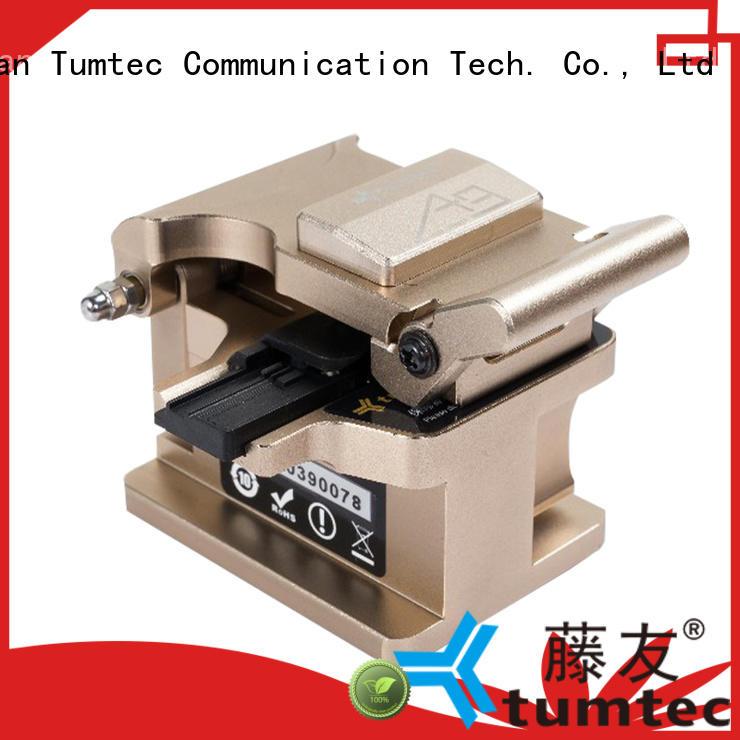 Tumtec professional fiber cleaver inquire now for fiber optic field