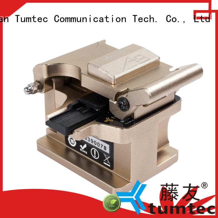 Tumtec professional optical fiber cleaver customized for fiber optic solution
