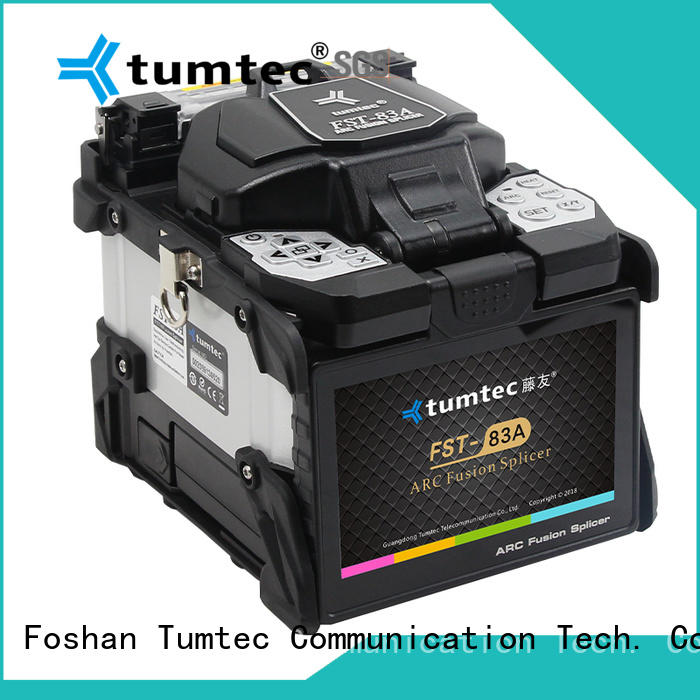Tumtec effective fiber cable splicing machine price from China for fiber optic solution