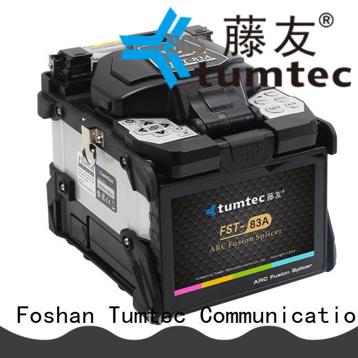 six motor optical fiber splicing machine factory directly sale for fiber optic solution Tumtec