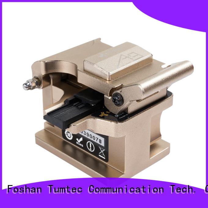 precision cleaver quality for fiber optic field Tumtec