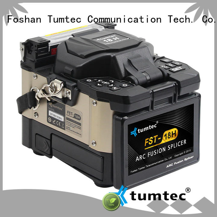 Tumtec four motors fiber optic splicing tools personalized for sale