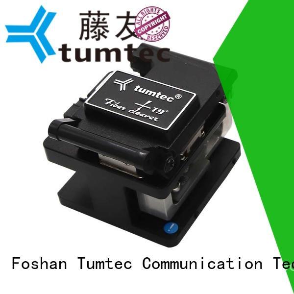 Tumtec tumtec fiber optic cleaver with good price for fiber optic solution
