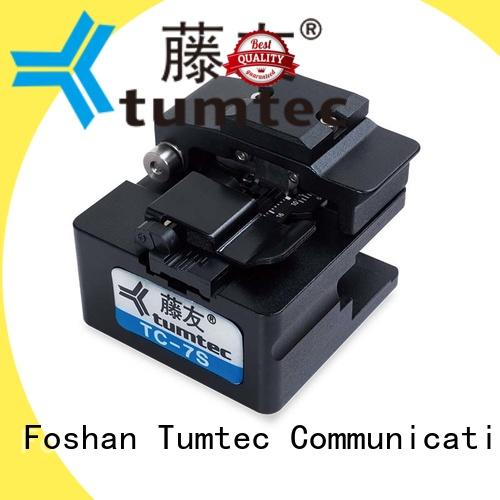 Tumtec tumtec fiber optic cleaver customized for telecommunications