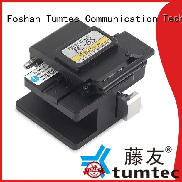 Tumtec high efficiency fiber optic cleaver optical for fiber optic solution