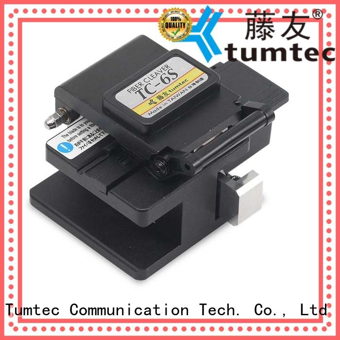 Tumtec high efficiency high precision cleaver quality for fiber optic field