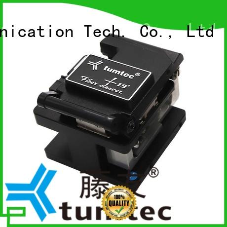 Tumtec high efficiency splicing machine cleaver factory for fiber optic solution