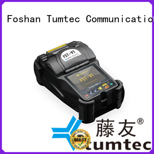 Tumtec stable FTTH splicing machine reputable manufacturer for telecommunications