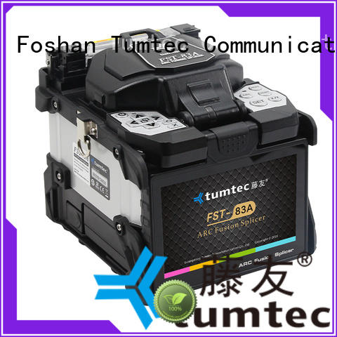 fusion splicing machine long distance for fiber optic solution Tumtec