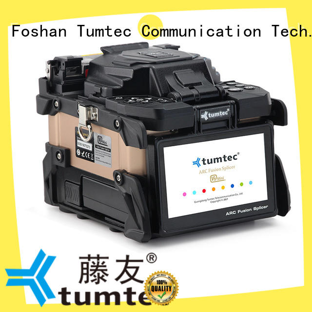 stable optical fiber splicing machine tumtec reputable manufacturer for fiber optic solution