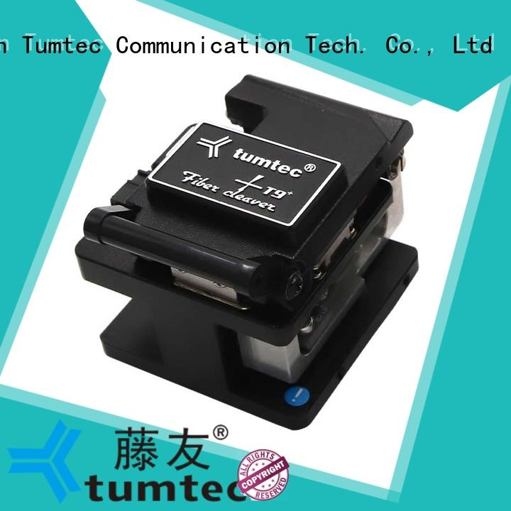 Tumtec quality fiber optic cleaver customized for fiber optic field