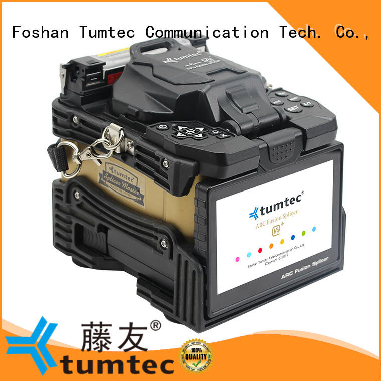 Tumtec v9 FTTH splicing machine reputable manufacturer for telecommunications