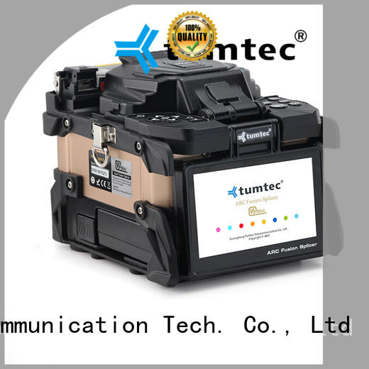 Tumtec professional fiber optic jointer machine supply for telecommunications