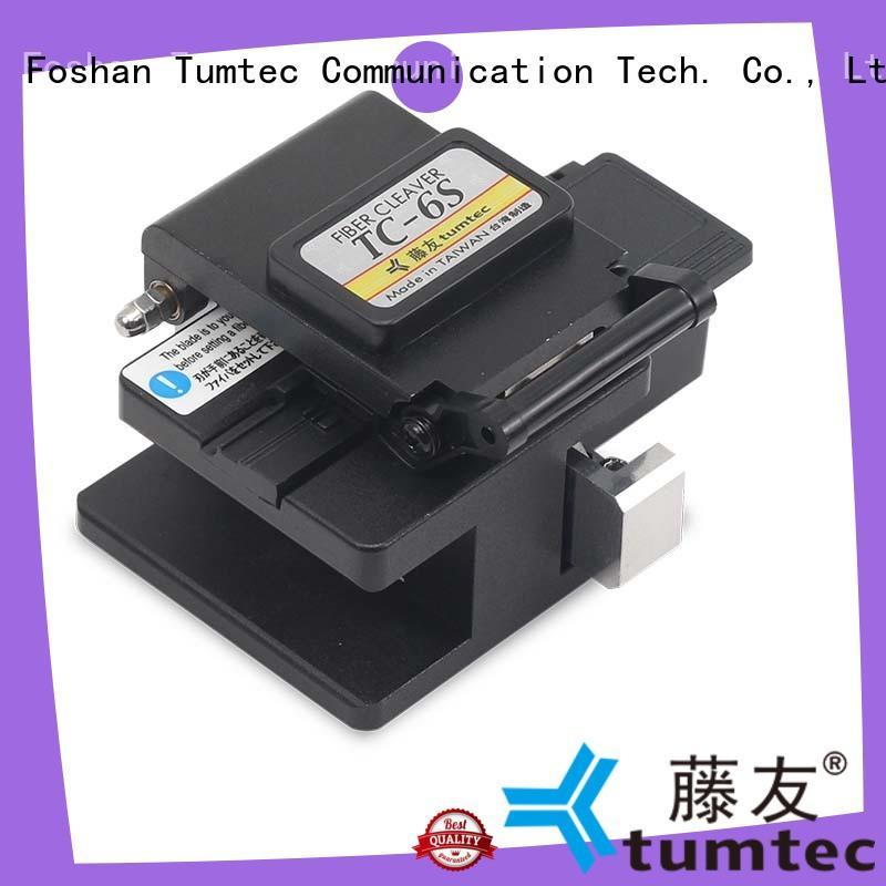Tumtec fiber optic cleaver customized for fiber optic solution