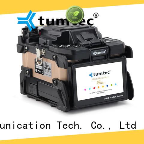 Tumtec optical fiber backbone project splicing machine factory directly sale for fiber optic solution bulk production