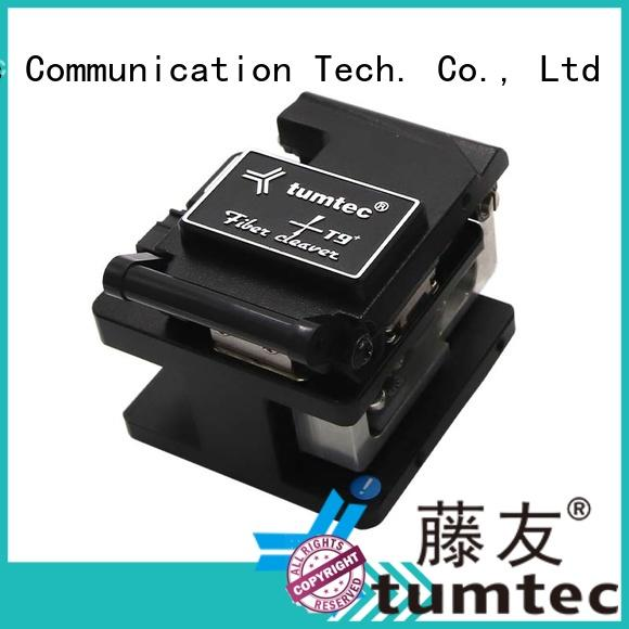 Tumtec tumtec fiber optic cleaver with good price for fiber optic solution