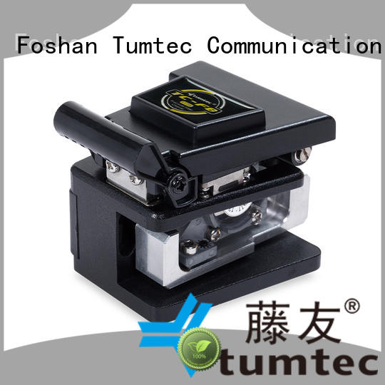 Tumtec fiber fiber cleaver customized for fiber optic solution