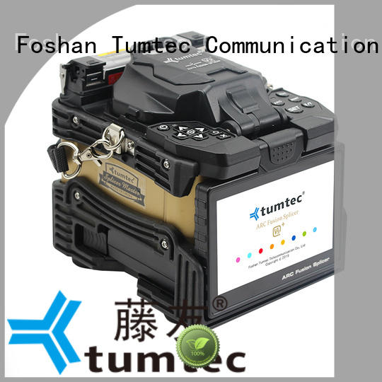 Tumtec stable fiber optic splicing machine from China for telecommunications