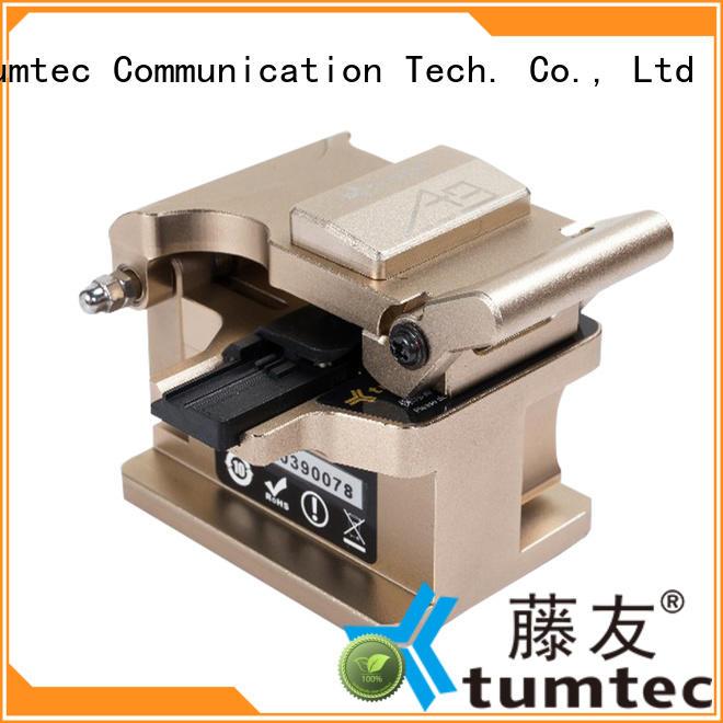 Tumtec optical cleaver customized for fiber optic field