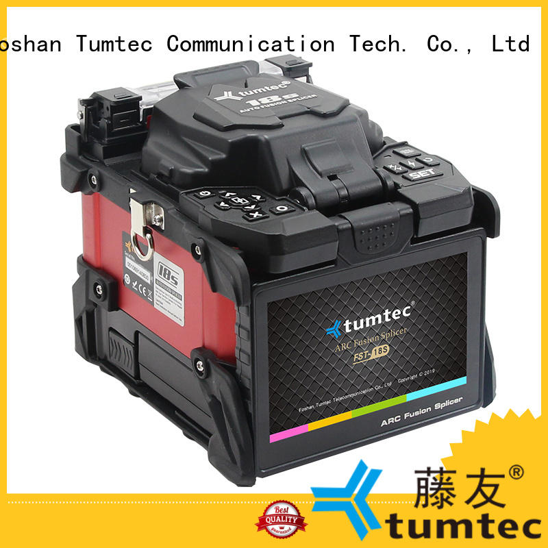 Tumtec oem odm fiber splicing machine reputable manufacturer for fiber optic solution
