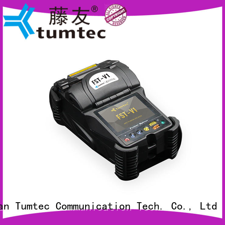 Tumtec four motors FTTH splicing machine from China for fiber optic solution