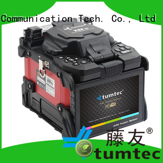Tumtec four motors mechanical splicing fiber optic cable from China for telecommunications