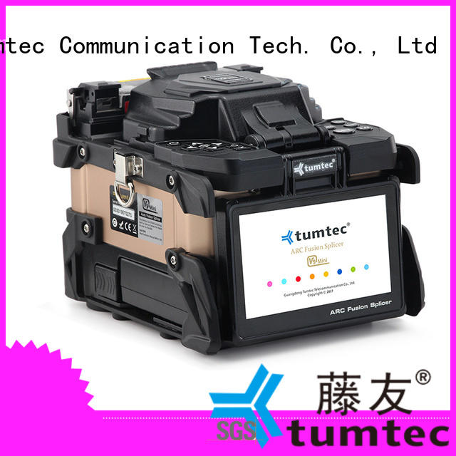 effective optical fibre cable splicing machine tumtec from China for fiber optic solution