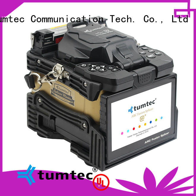 Tumtec four motors fiber splicing machine suppliers on sale