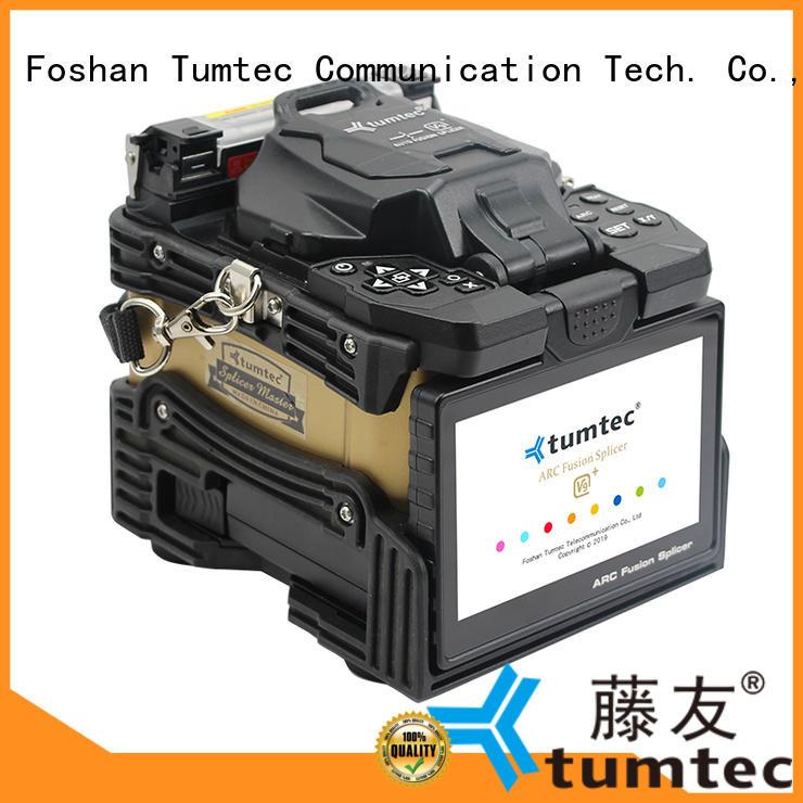 v9 fiber splicing machine factory directly sale for fiber optic solution Tumtec