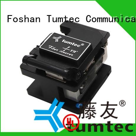 Tumtec high efficiency optical fiber cleaver with good price for telecommunications