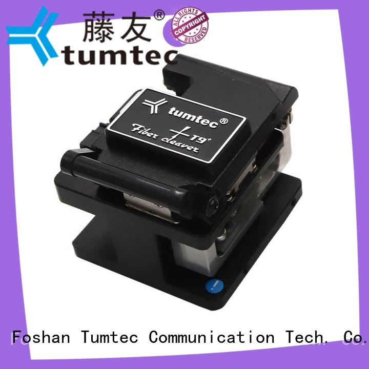 Tumtec unreserved service precision fiber cleaver with good price for fiber optic solution