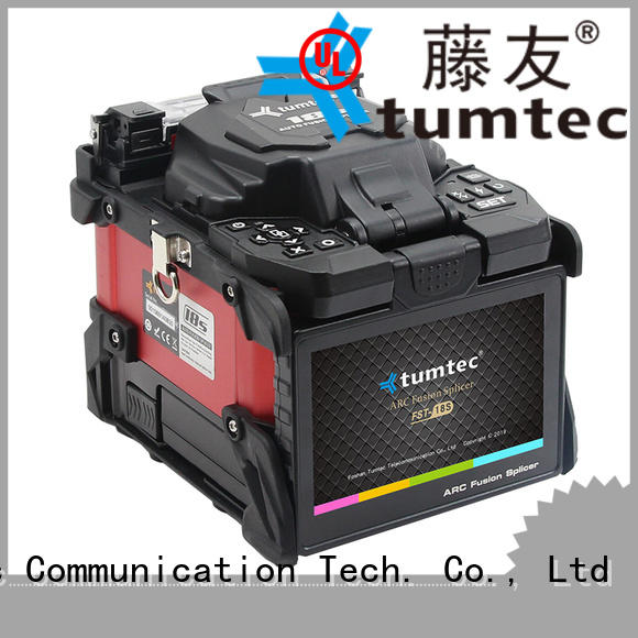 Tumtec optical fiber fiber splicing machine from China for outdoor environment