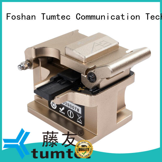 Tumtec optical fiber cleaver inquire now for telecommunications