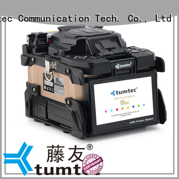 Tumtec v9 mini optical fiber fusion machine reputable manufacturer for outdoor environment