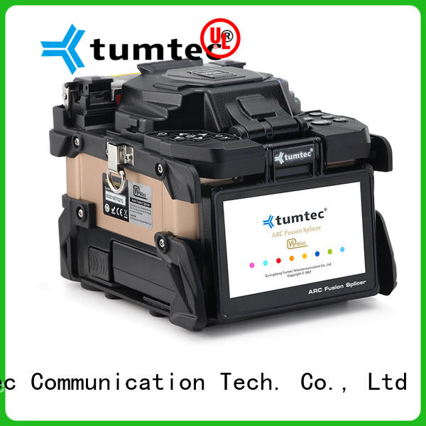 Tumtec v9 mini fiber optic splicing machine price in pakistan from China for telecommunications