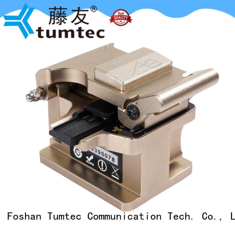 Tumtec unreserved service best fiber cleaver customized for fiber optic solution