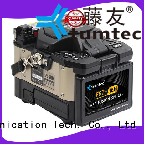 Tumtec v9 fiber fusion machine reputable manufacturer for outdoor environment