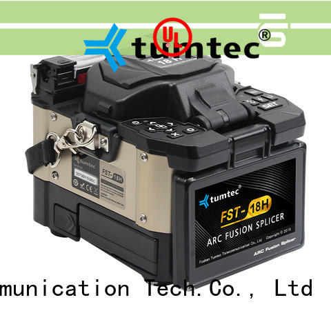 Tumtec cheap splicing machine cost in india manufacturer for fiber optic solution bulk production
