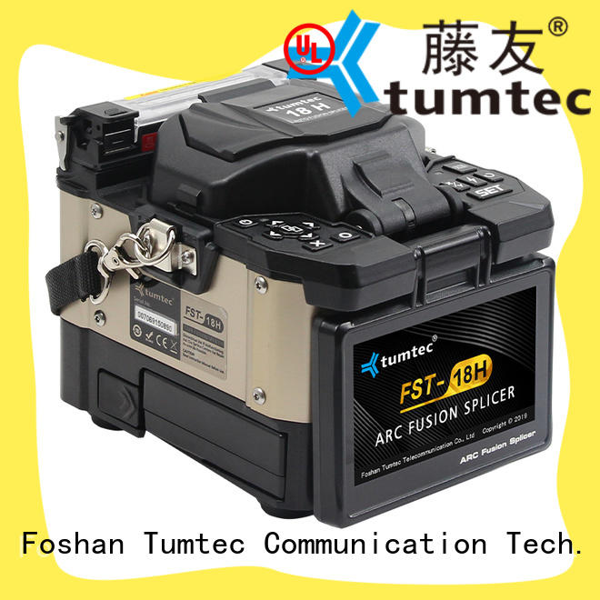 Tumtec oem odm fiber splicing machine reputable manufacturer for telecommunications