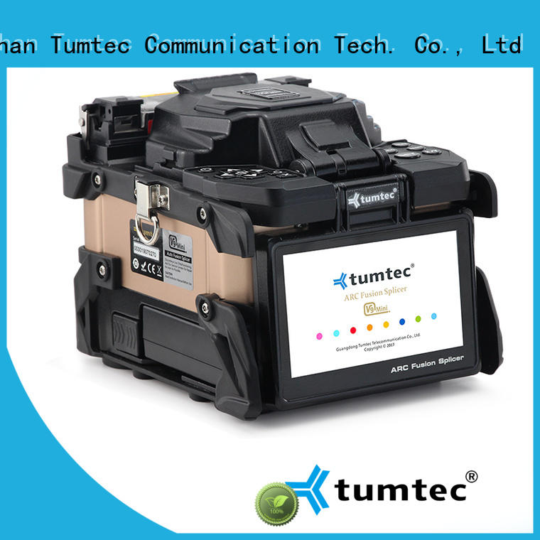 Tumtec equipment fiber optic fusion splicing jobs reputable manufacturer for telecommunications