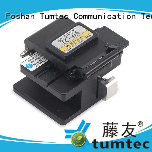 Tumtec lightweight fiber cleaver with good price for fiber optic field
