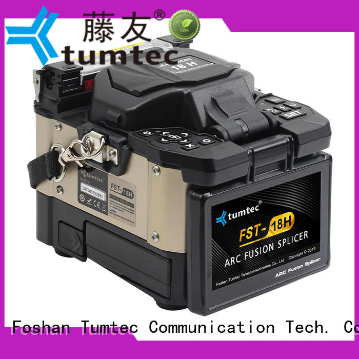 Tumtec effective fusion splicing machine from China for fiber optic solution