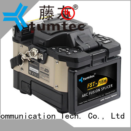 Tumtec equipment FTTH splicing machine factory directly sale for fiber optic solution