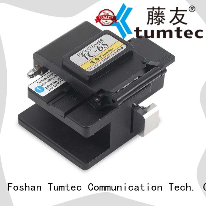 Tumtec lightweight fiber cleaver with good price for telecommunications