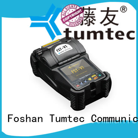 Tumtec six motor fiber splicing machine reputable manufacturer for fiber optic solution