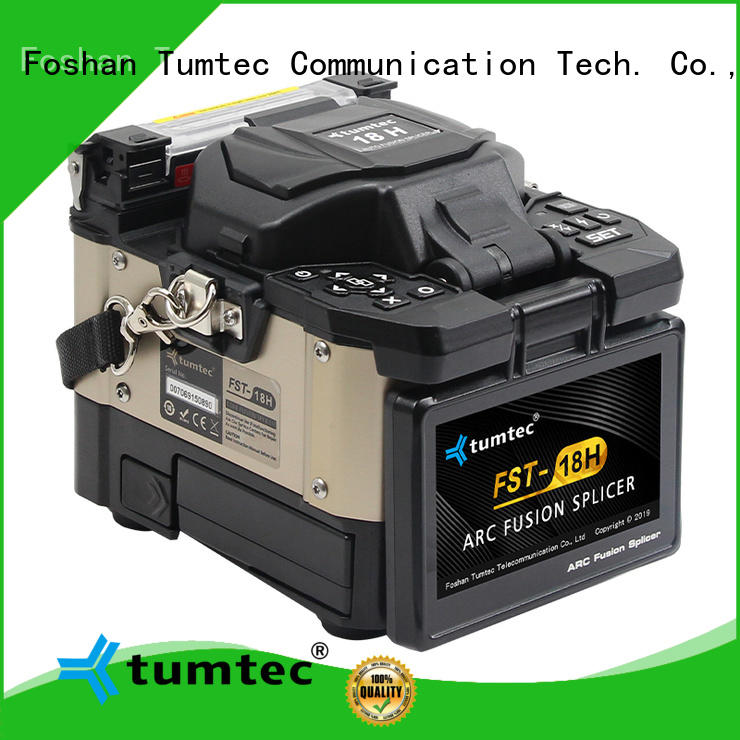Tumtec high quality fiber splicing machine olx factory directly sale on sale