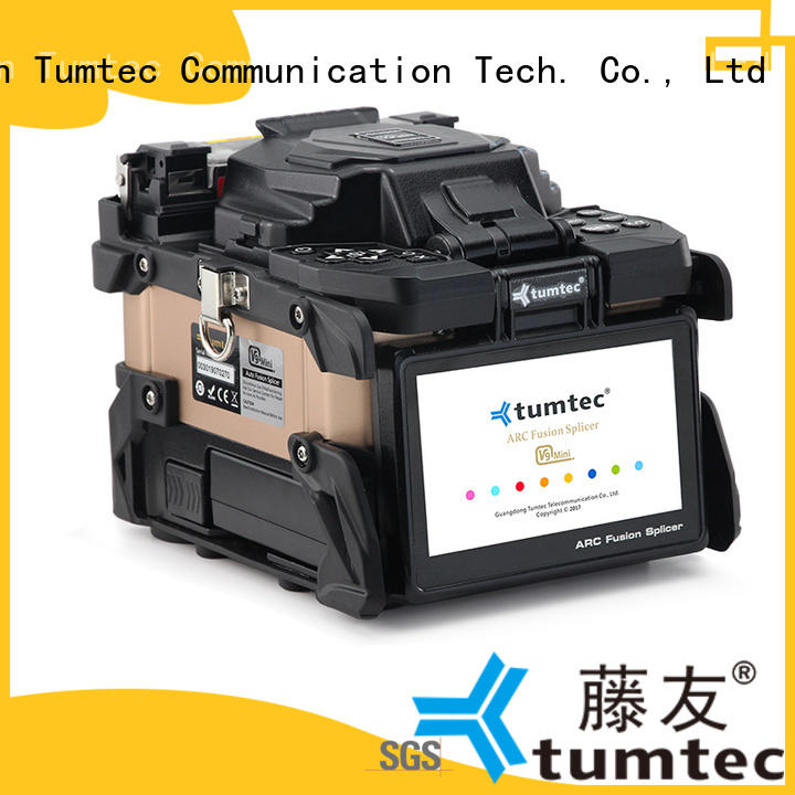 tumtec fiber splicing machine factory directly sale for fiber optic solution