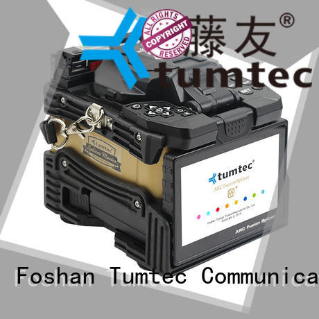 Tumtec stable splicing fiber optic machine from China for telecommunications