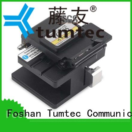 Tumtec high efficiency fiber optic fusion factory for fiber optic field